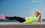 拉伸小腿肌肉的动作