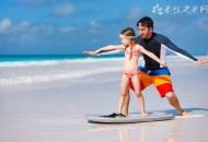 多大的孩子可以学冲浪