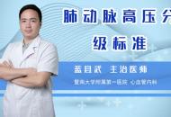 肺動脈高壓分級標準