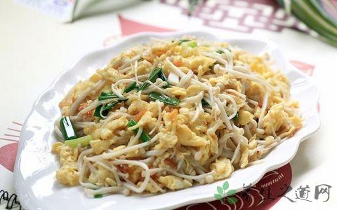 金针菇炒鸡蛋怎么做最有营养