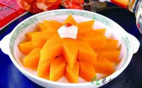 蜜汁南瓜的营养价值