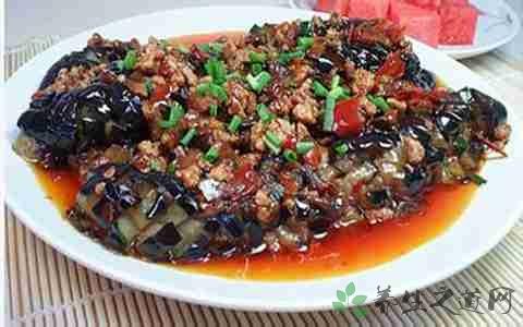 肉末茄子的营养价值