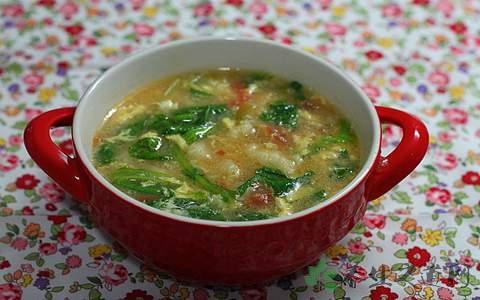 西红柿鸡蛋疙瘩汤的营养价值