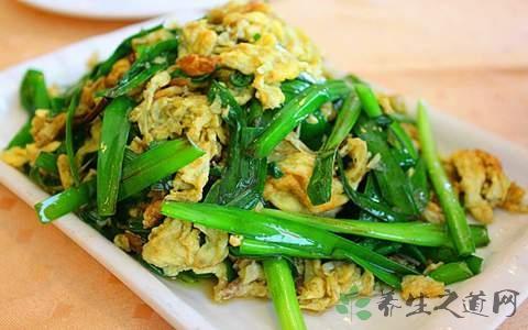 韭菜炒鸡蛋什么时候放调料