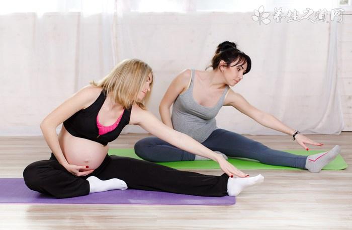 怀孕38周可以坐瑜伽球吗