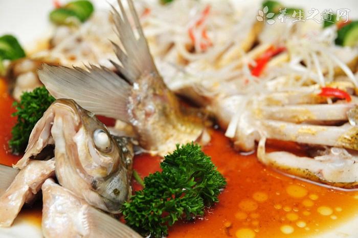 开屏柴把桂鱼的营养价值