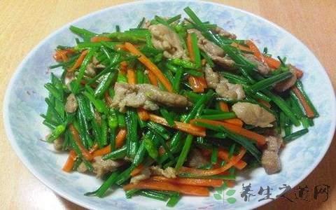 做韭菜炒肉放什么调料
