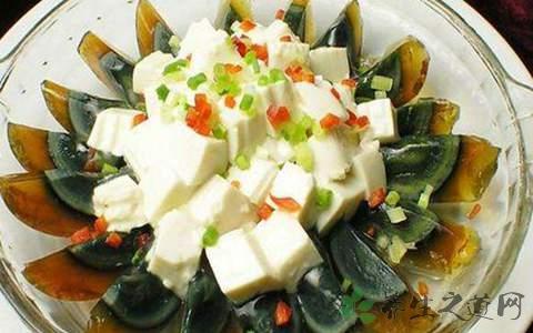 蛋拌豆腐的营养价值