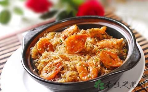 做米茸芋丝虾煲放什么调料