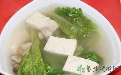 梨花豆腐汤什么时候放调料