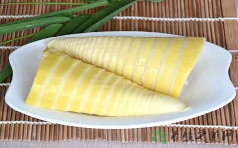 酿扒竹笋的营养价值