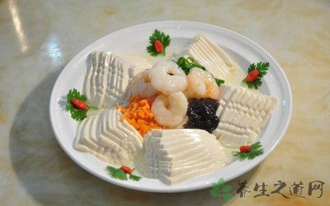 做鲜花豆腐放什么调料
