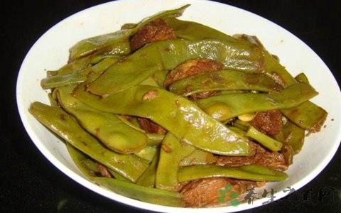 焖扁豆的营养价值