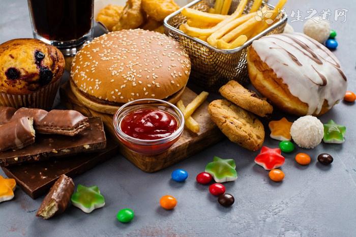 减肥不能吃的12种食物