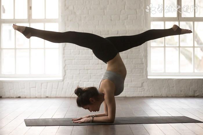 女生练倒立可以减肥吗