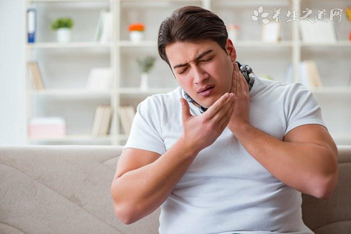 慢性咽炎忌口