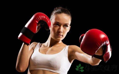 练拳击长肌肉吗