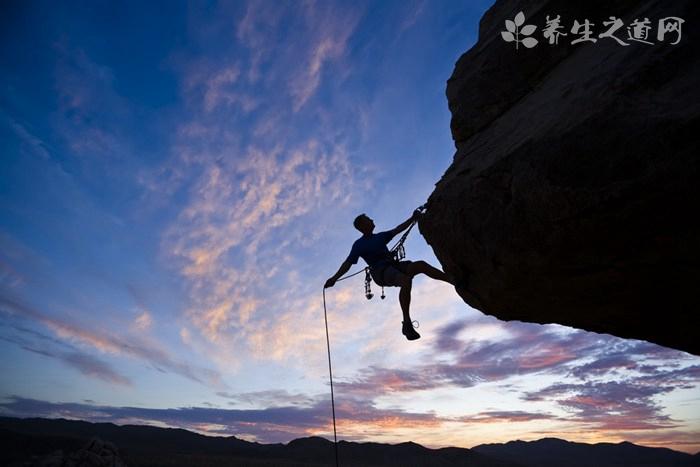 攀岩运动的好处