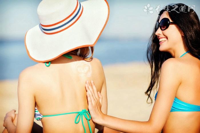 夏天游泳怎么防晒