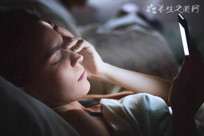 失眠症有主要危害