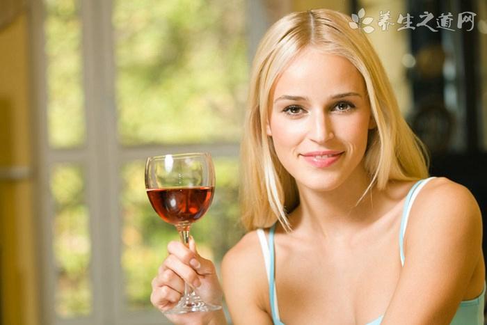 女人喝红葡萄酒的好处