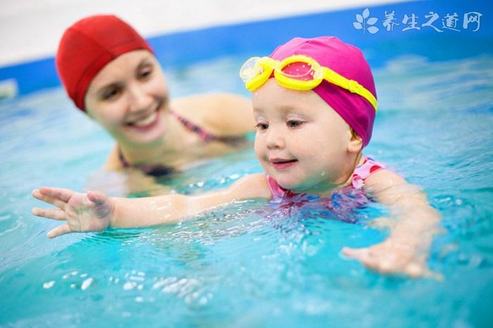 小孩游泳凉着了怎么办