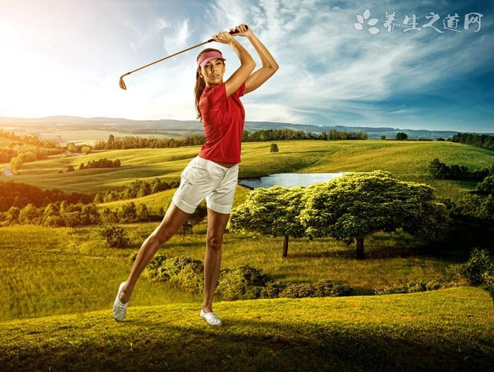 打高尔夫如何握杆