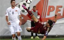 9月9日,欧洲杯预选赛精彩瞬间