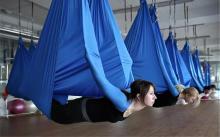 见识风靡欧美的反重力瑜伽