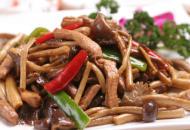 茶树菇炒肉怎么做