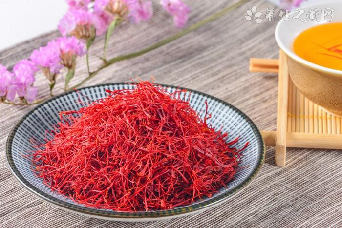 藏红花茶是女性养生专用花茶