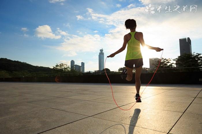 跳绳减肥法帮你甩掉脂肪
