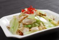 莴苣炒肉的做法