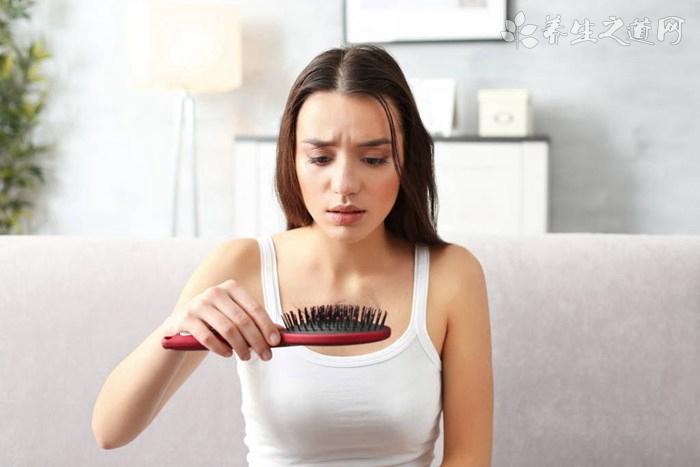 女性脱发的原因