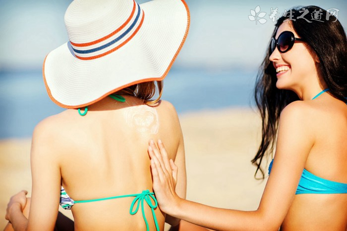 美容护肤:皮肤被太阳晒伤怎么办
