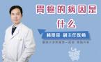 胃癌的病因是什么