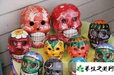 地方习俗:美国墨西哥小镇为何崇拜骷髅